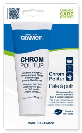 CHROM POLITUR, Tube 100 ml
