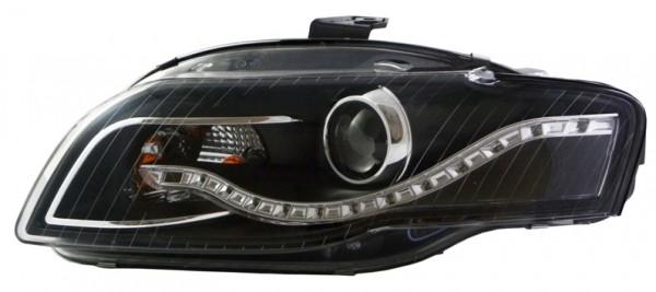 """für Audi A3 (8P) """"LED-starline"""" schwarz"""