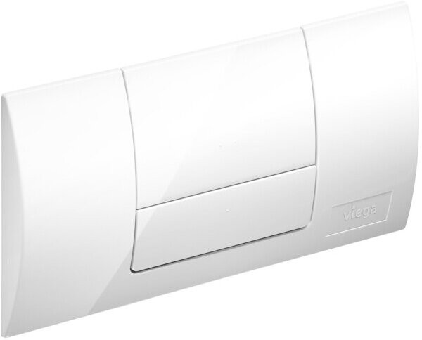 Viega Betätigungsplatte Standard, weiß-alpin
