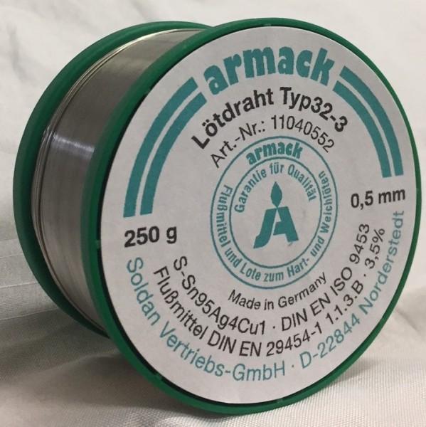 armack Lötdraht Typ32-3 Ø 0,5 mm - 250 g