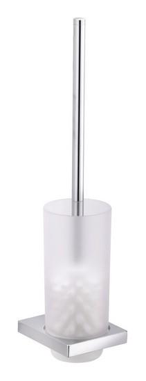 Keuco Wand-Toilettenbürstengarnitur Edition 11 verchromt, Kristallglas-Eins.