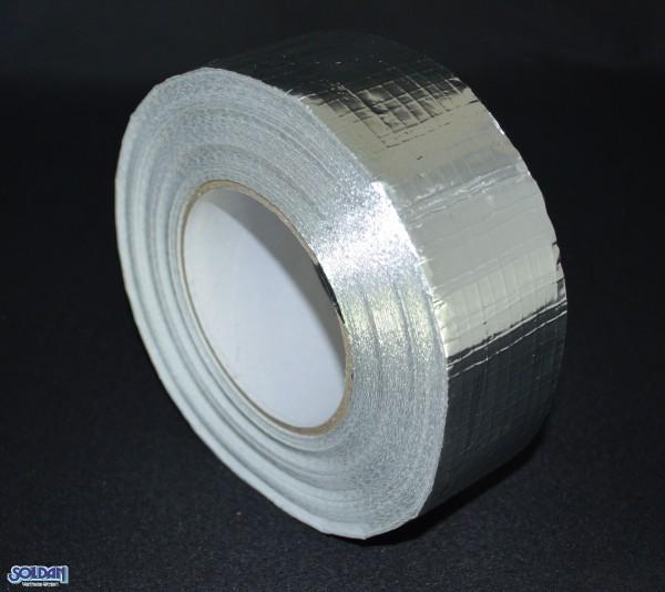 Aluminium Klebeband 45m x 48mm, Gewebe verstärkt