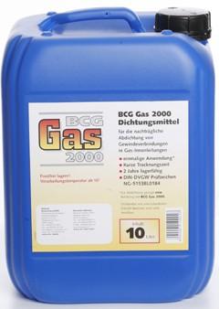 BCG Gas 2000 - 10 Liter - Flüssigdichtmittel