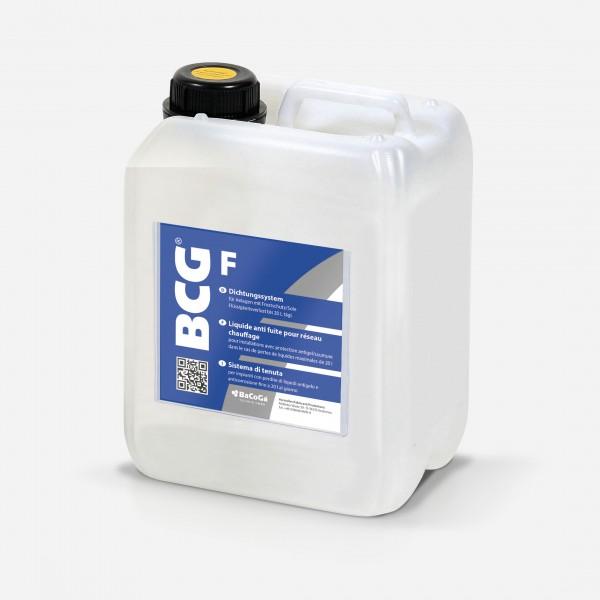 BCG F - 5,0 Liter Dichtungssystem für Anlagen mit Frostschutz/Sole, bei Flüssigkeitsverlust bis 20 L