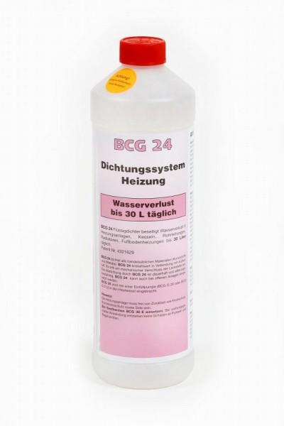 BCG 24 - 1 Liter Dichtungssystem Heizung, bei Wasserverlust bis 30 Liter täglich