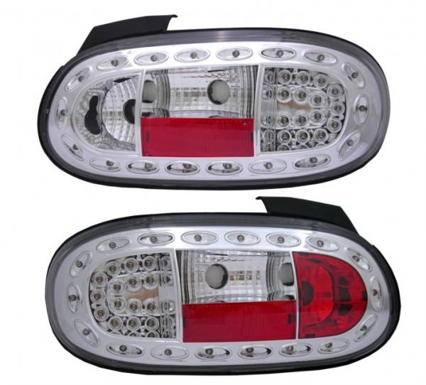 für Mazda MX5 (NB), Bj. 01/1998-10/2005 LED klar/chrom