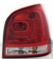 für VW Polo (9N), Bj.11/2001-03/2005, LED, dunkelrot/klar