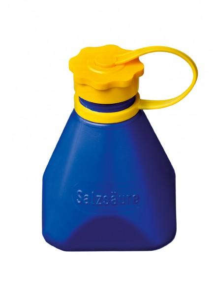 Lötwasserflasche, blau m. Halteband