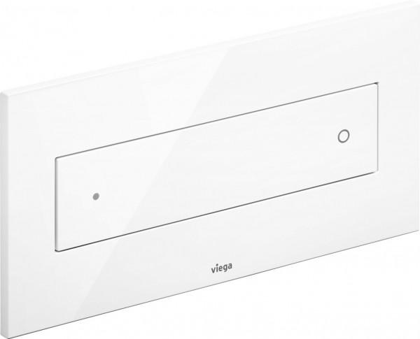 Viega Betätigungsplatte Visign for Style 12 2-Mengen-Spültechnik, weiß-alpin
