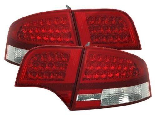 LED Rückleuchten-Set Audi A4 (B7) Limousine Bj. 11/2004-11/2007 rot/klar
