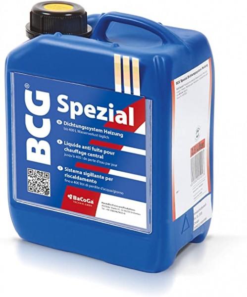 BCG Spezial - 2,5 Liter -Dichtungssystem Heizung, bei Wasserverlust bis 400 Liter täglich.