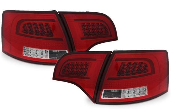 LED Rückleuchten-Set Audi A4 (B7) Avant Bj. 11/2004- 0/2008 rot/klar