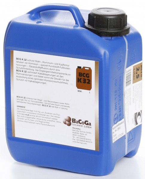 BCG K32 - 2,5 Liter - Korrosionsschutz