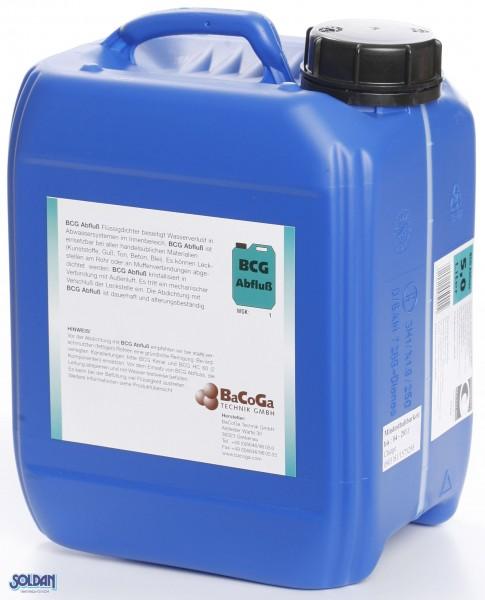 BCG Abfluß - 5 Liter Flüssigdichtmittel