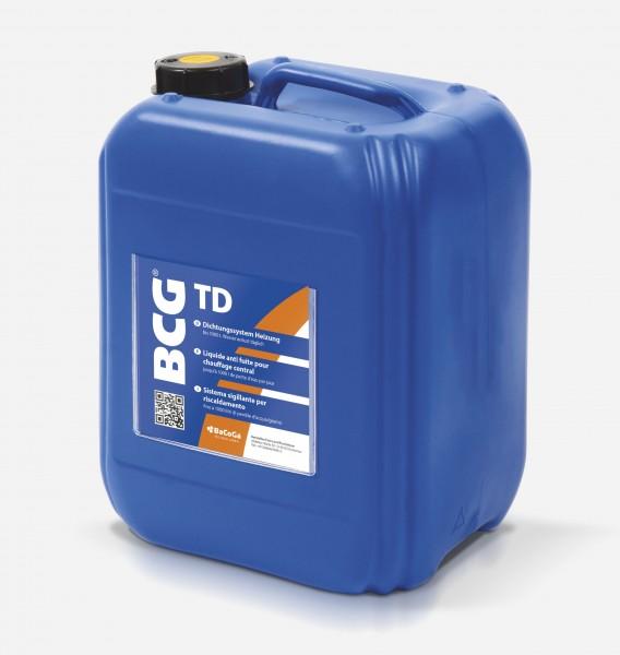 BCG TD - 5,0 Liter Dichtungssystem Heizung, bei Wasserverlust über 1000 Liter täglich.
