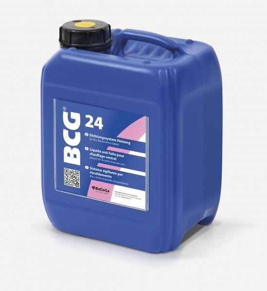BCG 24 - 5,0 Liter - Dichtungssystem Heizung, bei Wasserverlust bis 30 Liter täglich.-Copy