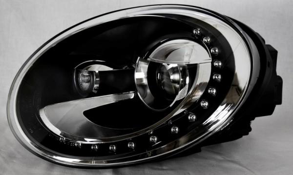 für VW Beetle DRL-starline-Set, Bj. ab 06/2011, schwarz (-H)