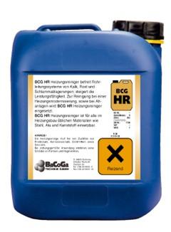 BCG HR - 5 Liter - Heizungsreiniger