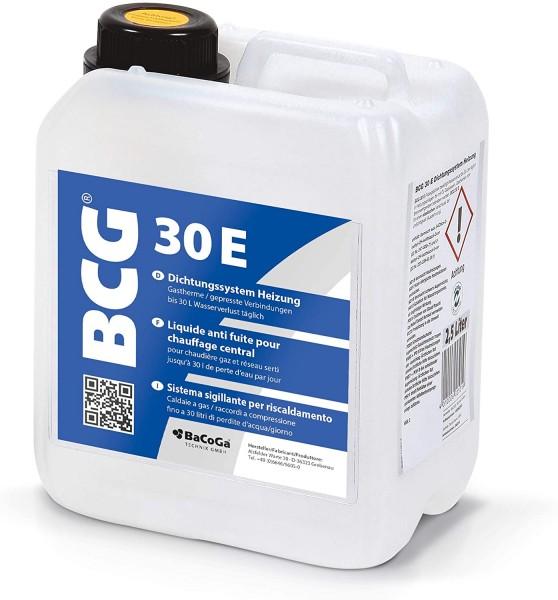 BCG 30E - 2,5 Liter - Gastherme / gepresste Verbindungen bis 30 Liter Wasserverlust täglich.