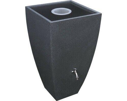 Regenwasserspeicher Modena 200 l black granit