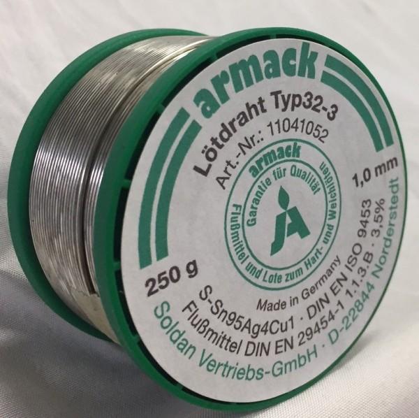 armack Lötdraht Typ32-3 Ø 1,0 mm - 250 g
