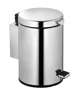 Keuco Wand-Abfallbehälter Plan (Fassungsvermögen 3 ltr.) chrom-finish