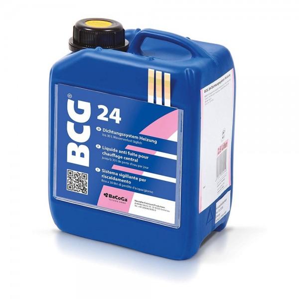 BCG 24 - 2,5 Liter - Dichtungssystem Heizung, bei Wasserverlust bis 30 Liter täglich.