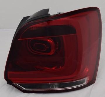 für VW Polo 6R (2V), lightbar, rot-weiss