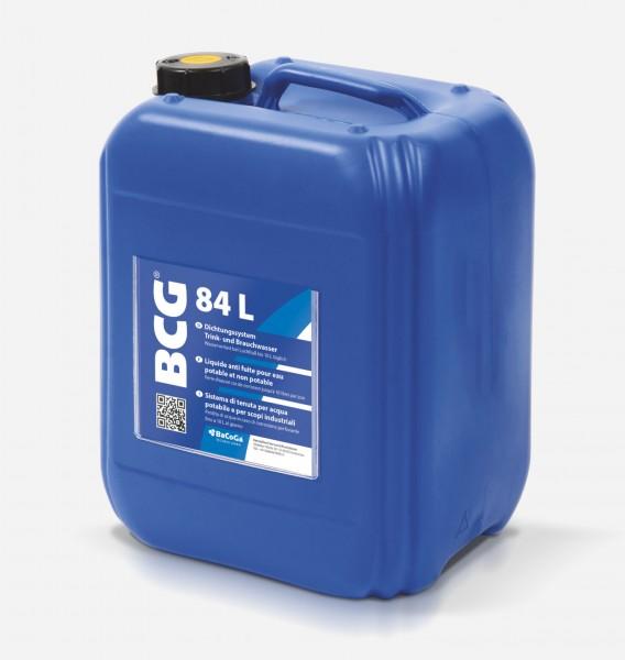 BCG 84L - 5 Liter - Dichtungssystem Trink- und Brauchwasser, Wasserverlust bei Lochfraß bis 10 Liter