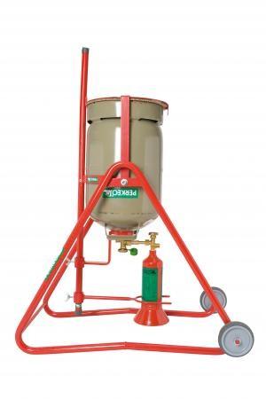 PERKEO SWING, mobile Propan-Umfüllstation für Montageflaschen
