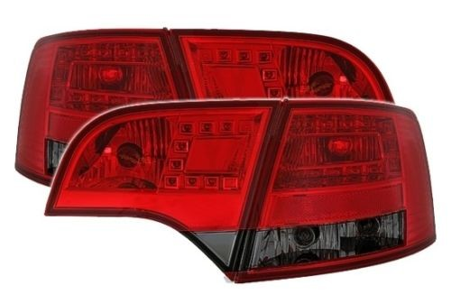 LED Rückleuchten-Set Audi A4 (B7) Avant Bj. 11/2004 - 03/2008 rot/smoke