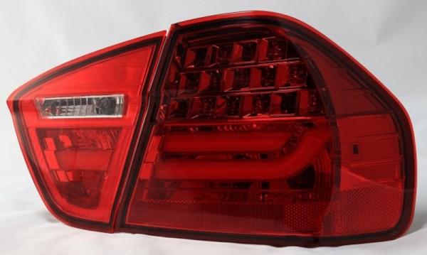 für 3er BMW (E90) Limousin 03/2005-08/2008, (nicht 335d) rot/hellrot