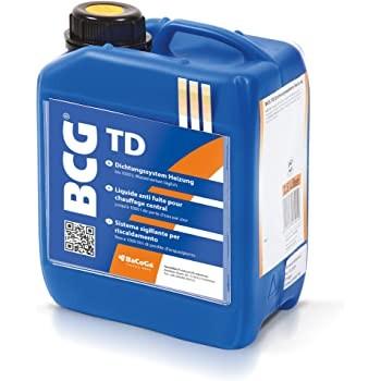 BCG TD - 2,5 Liter Dichtungssystem Heizung, bei Wasserverlust bis 1000 Liter täglich.