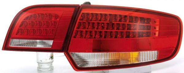 für Audi A3 sportback (8PA), Bj. 9/2004-6/2008), in rot/klar