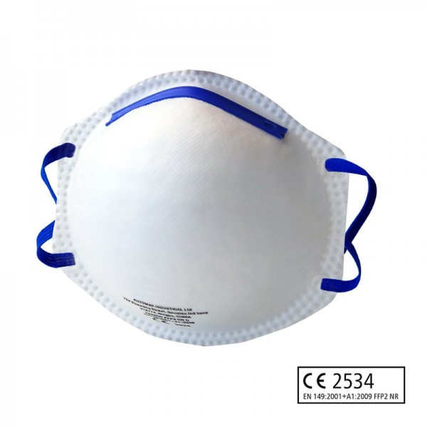FFP2 Atemschutzmaske, vorgewölbt (10 Stück) CE2534. EN 149:2001