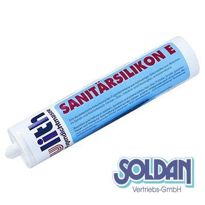 """Ulith"" Sanitärsilikon E - 300ml Kartusche, transparent"