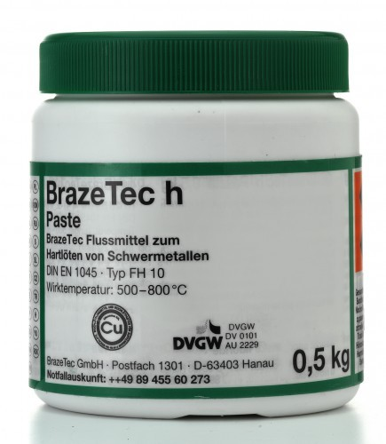 BrazeTec Paste h - 500 g