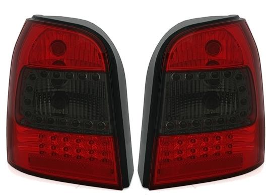 LED Rückleuchten-Set Audi A4 Avant (B5) Bj. 01/1996-06/2001), rot/smoke