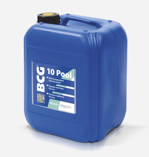 BCG 10 Pool - 10 Liter Dichtungssystem Schwimmbad.